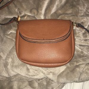 brown small purse